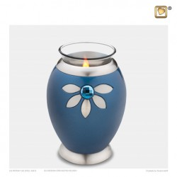LoveUrns® Mini Messing Urn met waxinelichtje T271