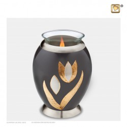LoveUrns® Mini Messing Urn met waxinelichtje T502